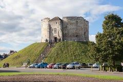 Torre del ` s de Clifford, York Imagen de archivo libre de regalías