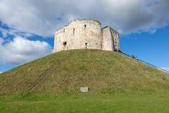 Torre del ` s de Clifford, York Imagenes de archivo