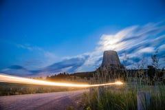 Torre del ` s del diablo Foto de archivo