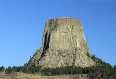 Torre del ` s del diablo imágenes de archivo libres de regalías