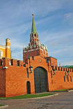 Torre del ` s Troitskaya di Cremlino di Mosca La Russia Fotografie Stock Libere da Diritti