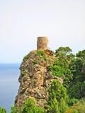 Torre del Sacristão, ao noroeste de Majorca Imagens de Stock Royalty Free