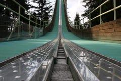 Torre del salto de esquí Imagenes de archivo