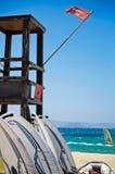 Torre del salvavidas Fotografía de archivo libre de regalías