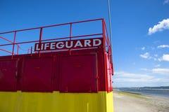 Torre del salvavidas Imagen de archivo