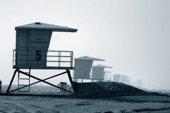 Torre del salvavidas Fotos de archivo