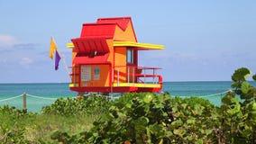 Torre del salvavidas en Miami