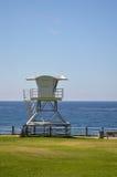Torre del salvavidas en San Diego California Imágenes de archivo libres de regalías