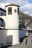 Torre del san Lawrence Fort a Funchal sul Madera fotografia stock libera da diritti