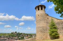 Torre del Santo-Hyppolyte sobre Cremieu fotos de archivo libres de regalías
