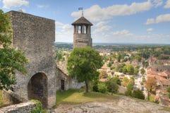 Torre del Santo-Hyppolyte sobre Cremieu imágenes de archivo libres de regalías