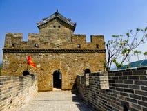 Torre del segnale della grande muraglia di Huanghuacheng Fotografia Stock Libera da Diritti