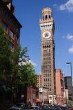 Torre del Seltzer di Bromo a Baltimora Maryland Fotografia Stock