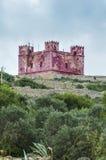 Torre del St Agatha en Malta Foto de archivo libre de regalías