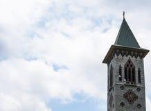 Torre del St Benedict Abbey Imagenes de archivo