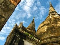 Torre del stupa de la pagoda Imagen de archivo