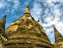 Torre del stupa de la pagoda Foto de archivo