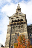 Torre del sud di Healy Hall storico in Washington DC, U.S.A. Immagini Stock Libere da Diritti