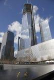 Torre del sur de la libertad de la piscina del punto cero Imagenes de archivo