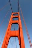Torre del sur del puente de puerta de oro fotografía de archivo libre de regalías