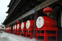 Torre del tambor de Xian, China Imágenes de archivo libres de regalías