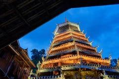 Torre del tamburo, Cina fotografie stock libere da diritti
