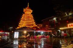 Torre del tamburo, Cina Immagini Stock Libere da Diritti