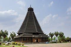 Torre del tamburo di Sanjiang, architettura etnica di Dong, Cina immagini stock