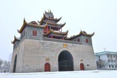 Torre del tamburo di Yinchuan Immagine Stock