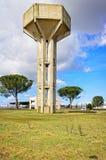 Torre del tanque para el agua potable Imagenes de archivo