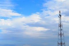 Torre del teléfono Fotos de archivo libres de regalías