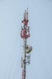 Torre del teléfono Imagen de archivo libre de regalías