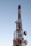 Torre del teléfono celular Imagen de archivo libre de regalías