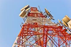 Torre del telefono Fotografie Stock Libere da Diritti