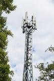 Torre del telefono cellulare Fotografie Stock