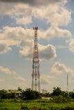 Torre del telefono cellulare Immagine Stock