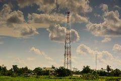 Torre del telefono cellulare Immagine Stock Libera da Diritti