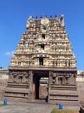 Torre del templo de Jalakandeswarar Imagen de archivo libre de regalías