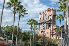 Torre del terror, Disney World, viaje, estudios de Hollywood fotos de archivo libres de regalías