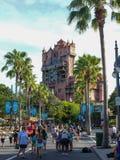 Torre del terrore, studi di Hollywood, Orlando, FL di Hollywood fotografia stock libera da diritti