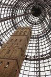 Torre del tiro del gallinero en la central de Melbourne Foto de archivo