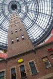 Torre del tiro del gallinero en la central de Melbourne, Melbourne Fotos de archivo