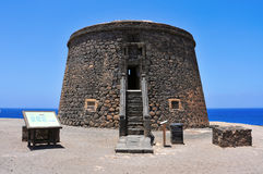 Torre del Toston in El Cotillo, Fuerteventura Stock Image
