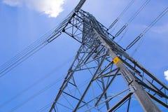 Torre del transmittion eletrical fotografia stock libera da diritti