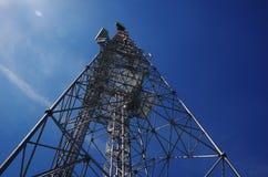 Torre del trasmettitore Fotografia Stock