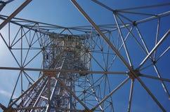 Torre del trasmettitore Immagine Stock