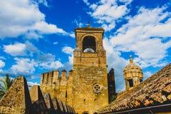 Torre del tributo - Alcazar de Christian Monarchs, Córdoba foto de archivo libre de regalías