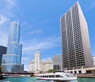 Torre del triunfo en Chicago Fotos de archivo libres de regalías