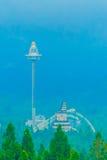 Torre del UFO, el paseo más alto de la caída libre en el culto aborigen de Formosa Imagenes de archivo