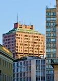 Torre del velasca de Milán Imagen de archivo libre de regalías